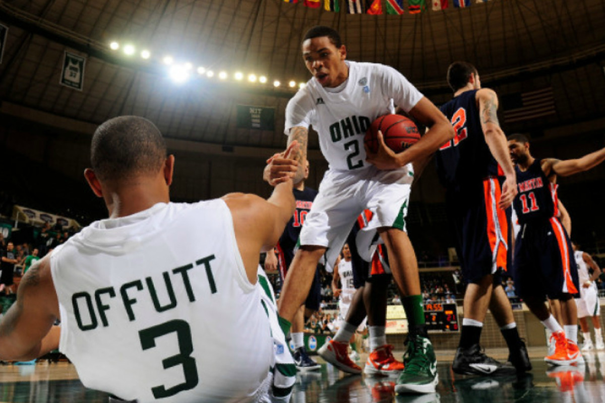Walter Offutt had quite the debut in his first game as a Bobcat. (Photo Credit: Joel Hawksley)