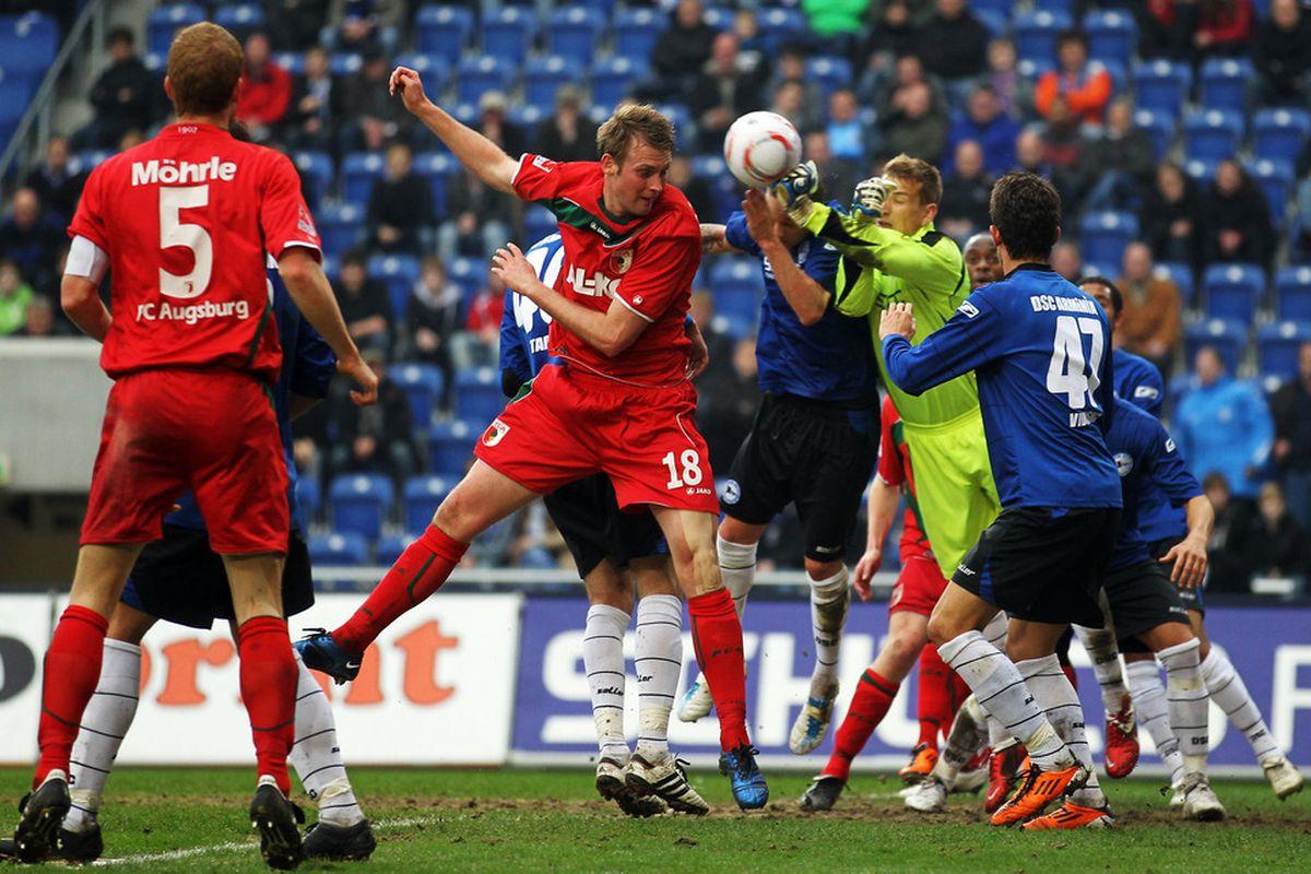 Bielefeld in action (In Blue)