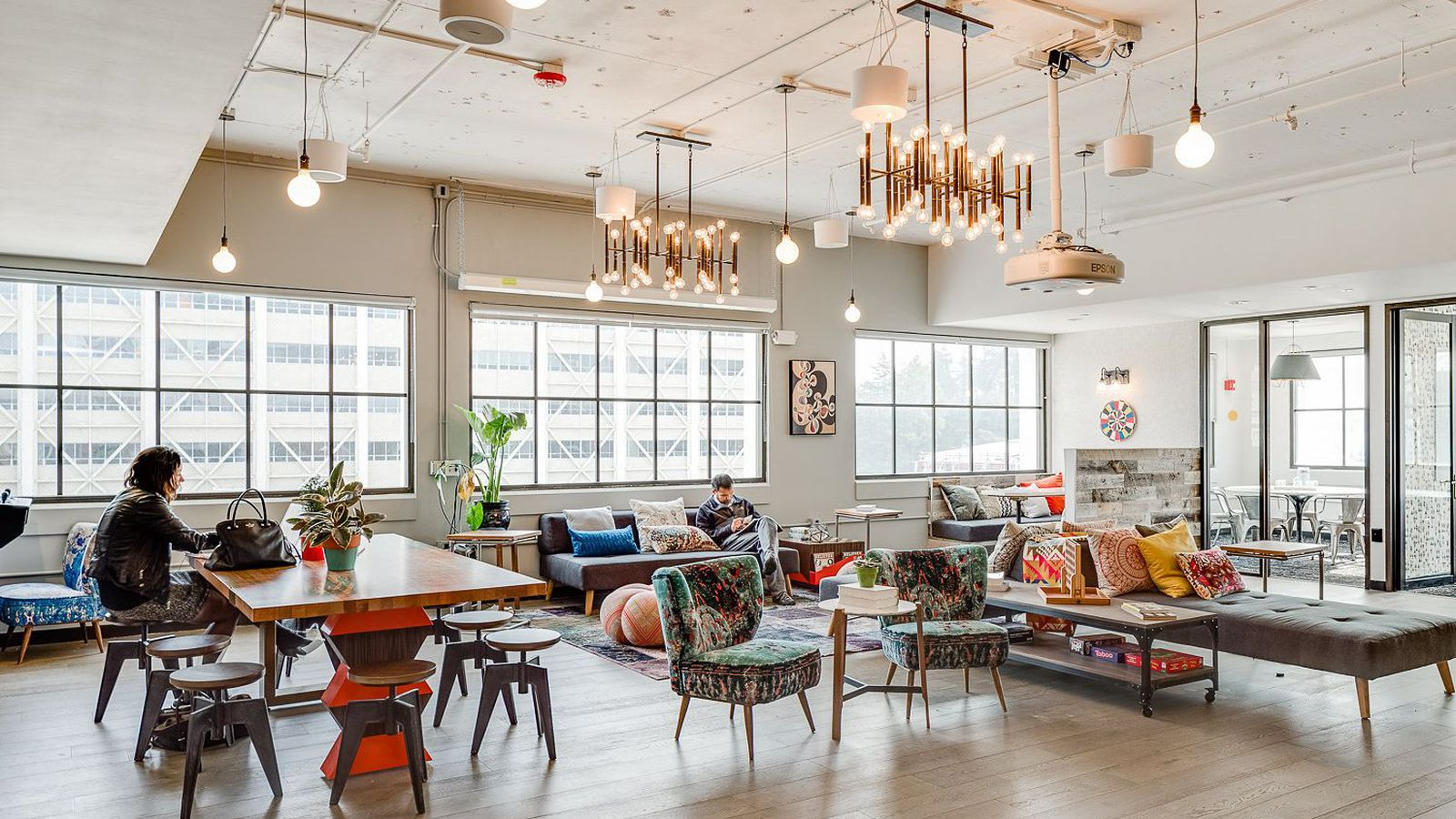 What it's like to work in a WeWork—and live in a WeLive - Curbed