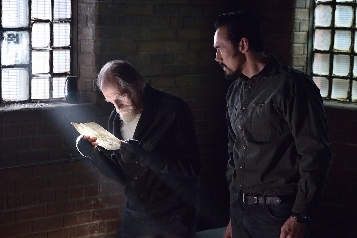 The second season of The Strain is all about a search for a book. Yes, a book.