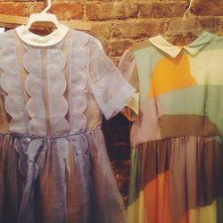 tba Saara dress, $60; Dusen Dusen dress, $80