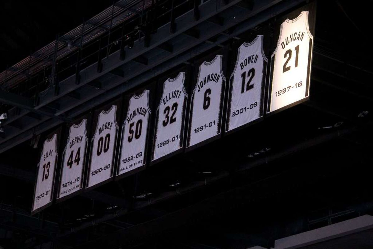 best loved 53876 49fb6 Manu Ginobili's jersey will be retired on March 28 ...