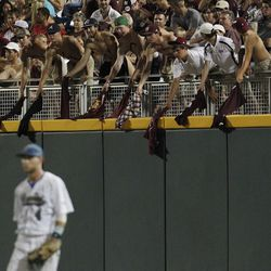 Even though UCLA came out on top, MSU was second to none in fan support in Omaha