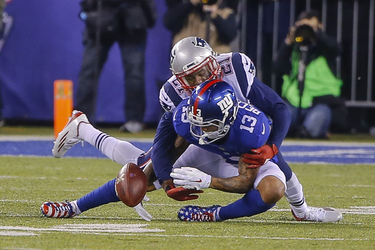 Butler on top of Beckham - that's what Patriots fans want to see.