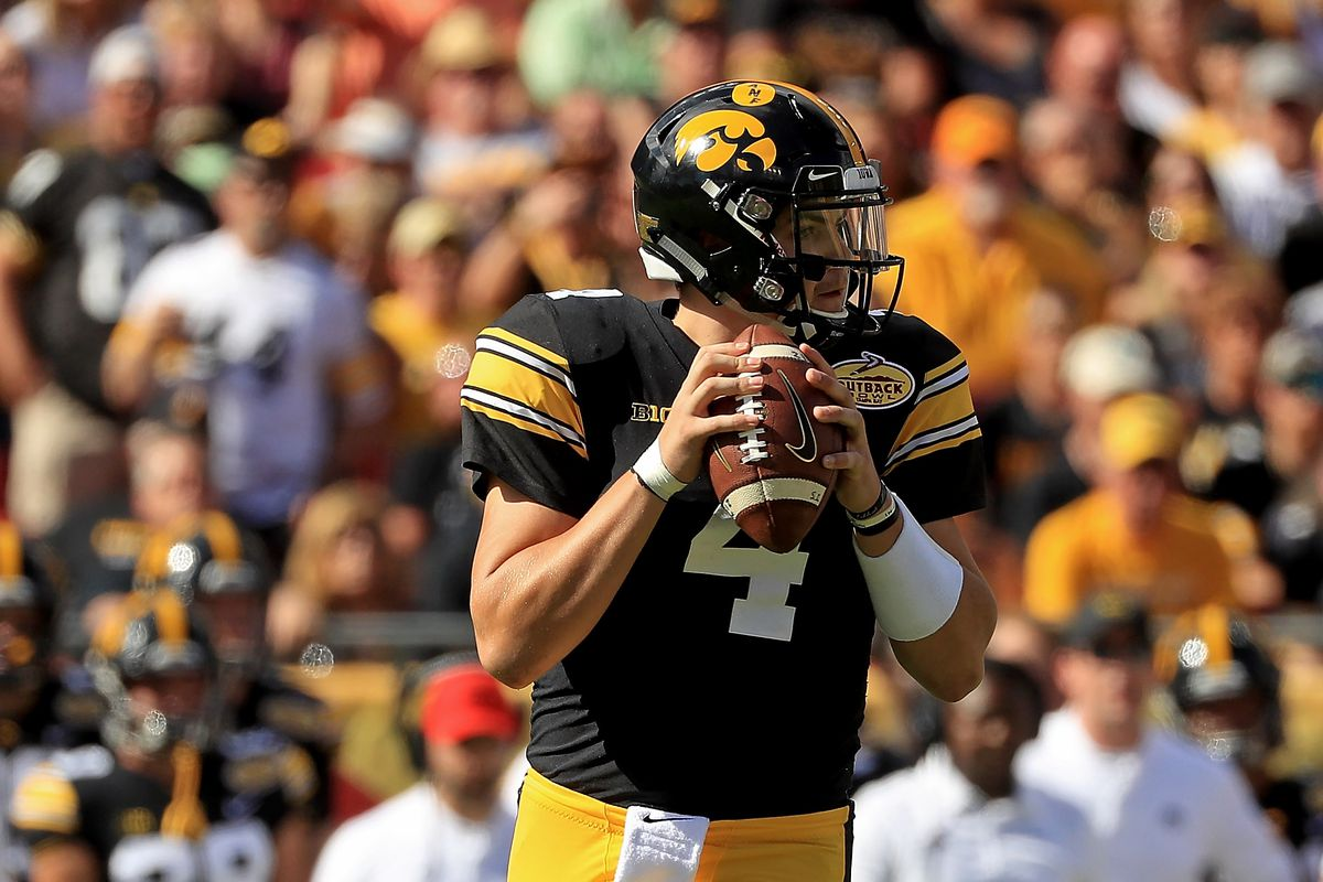 A quarterback who's not even at Iowa yet has strong words for Ohio State