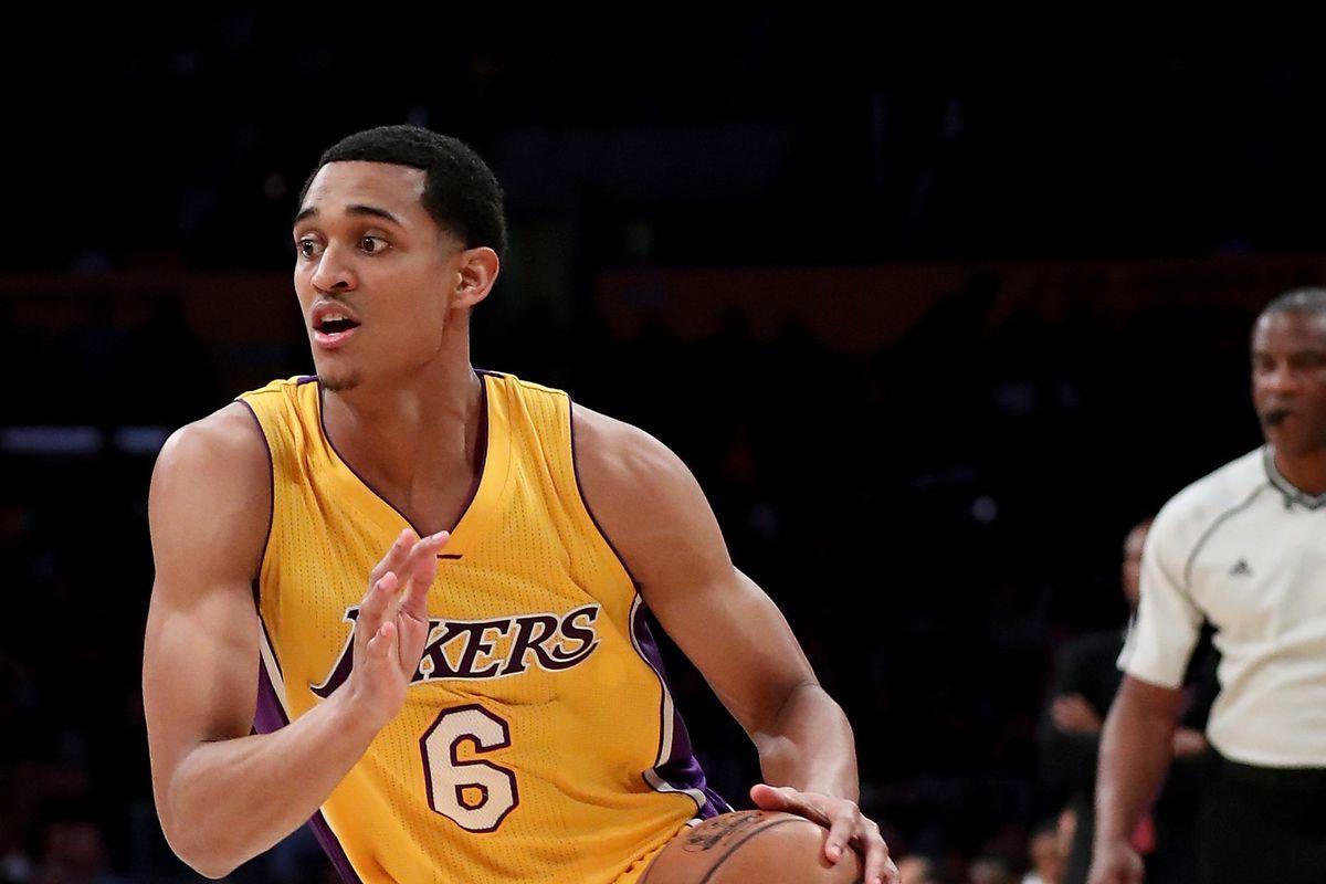 1ece0ba6ec80 The Lakers remain  hopeful  Jordan Clarkson will play in Las Vegas ...