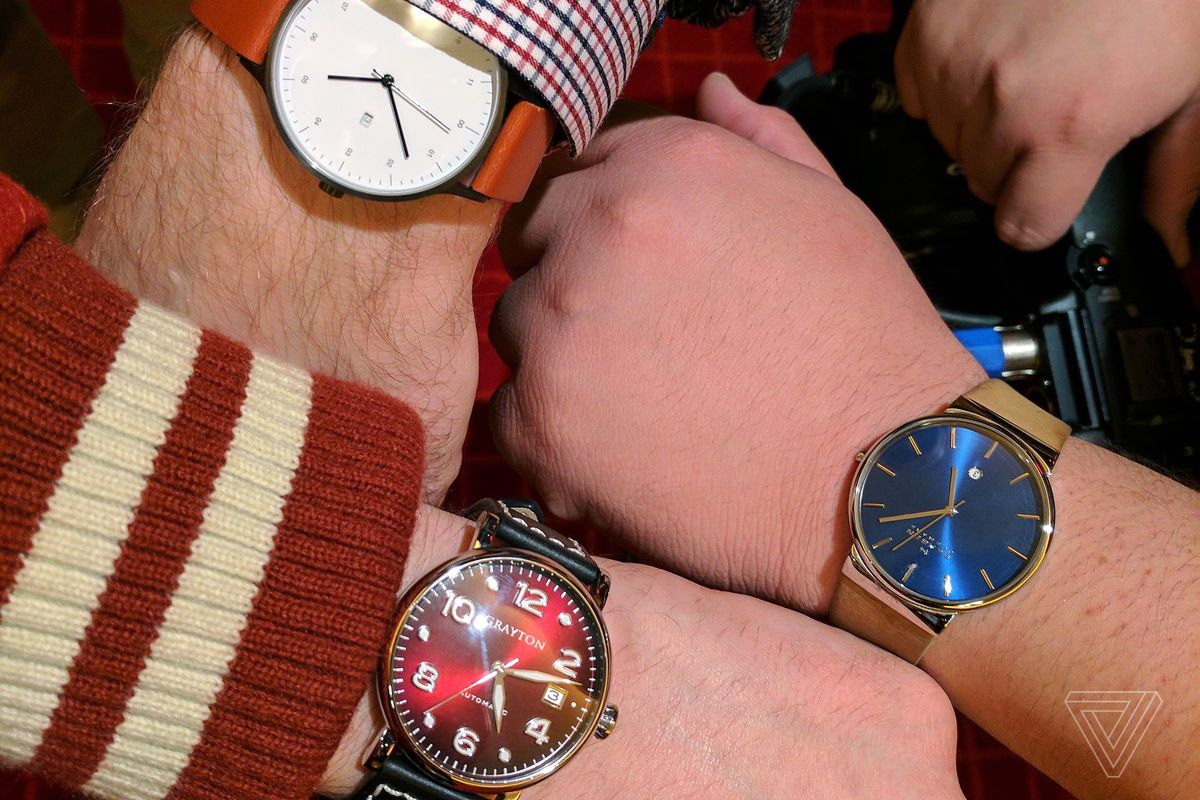 watches at ces