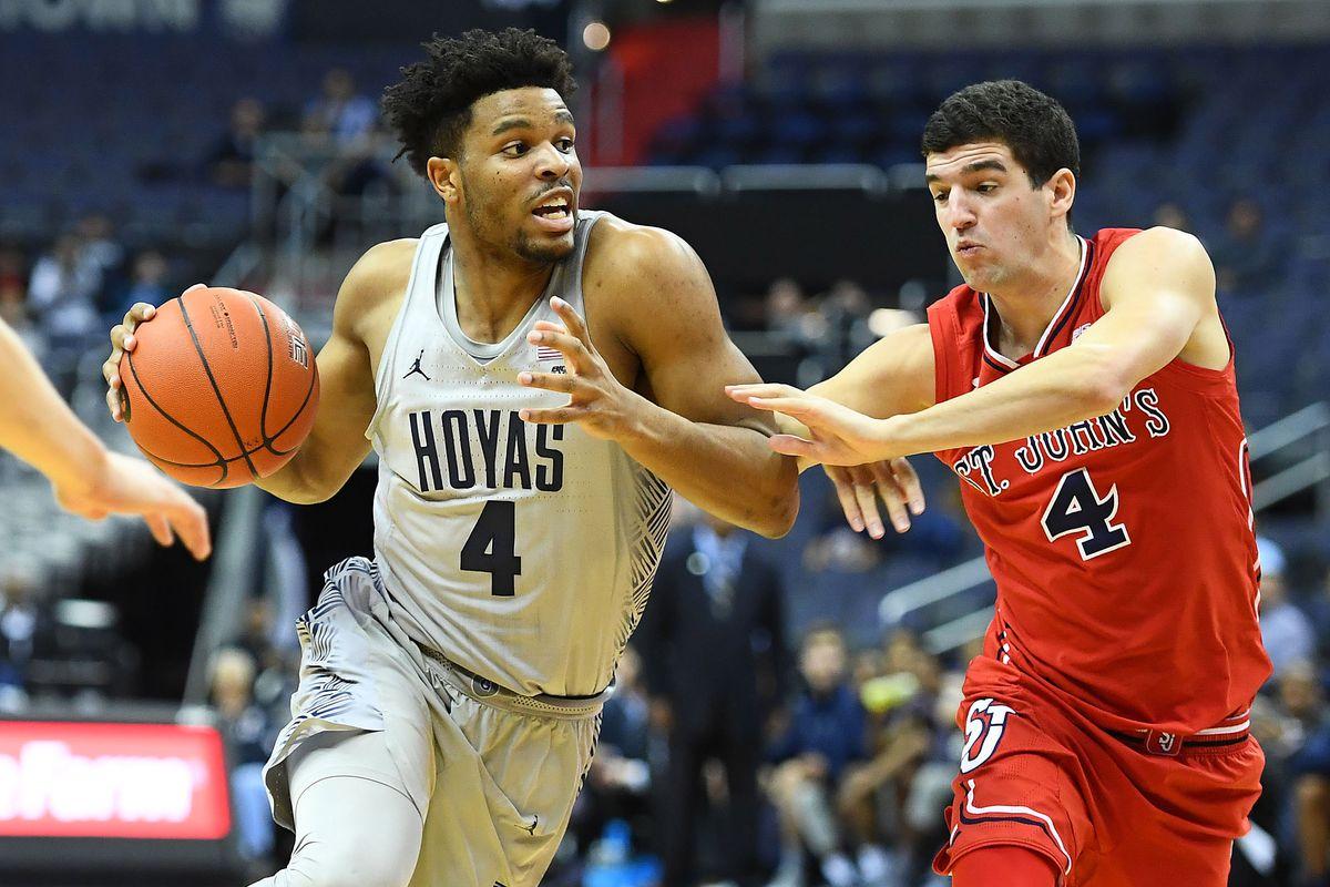 NCAA Basketball: St. John at Georgetown
