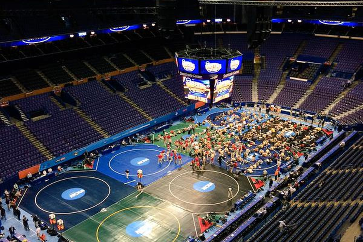 Scottrade Center and the NCAA Wrestling Championships