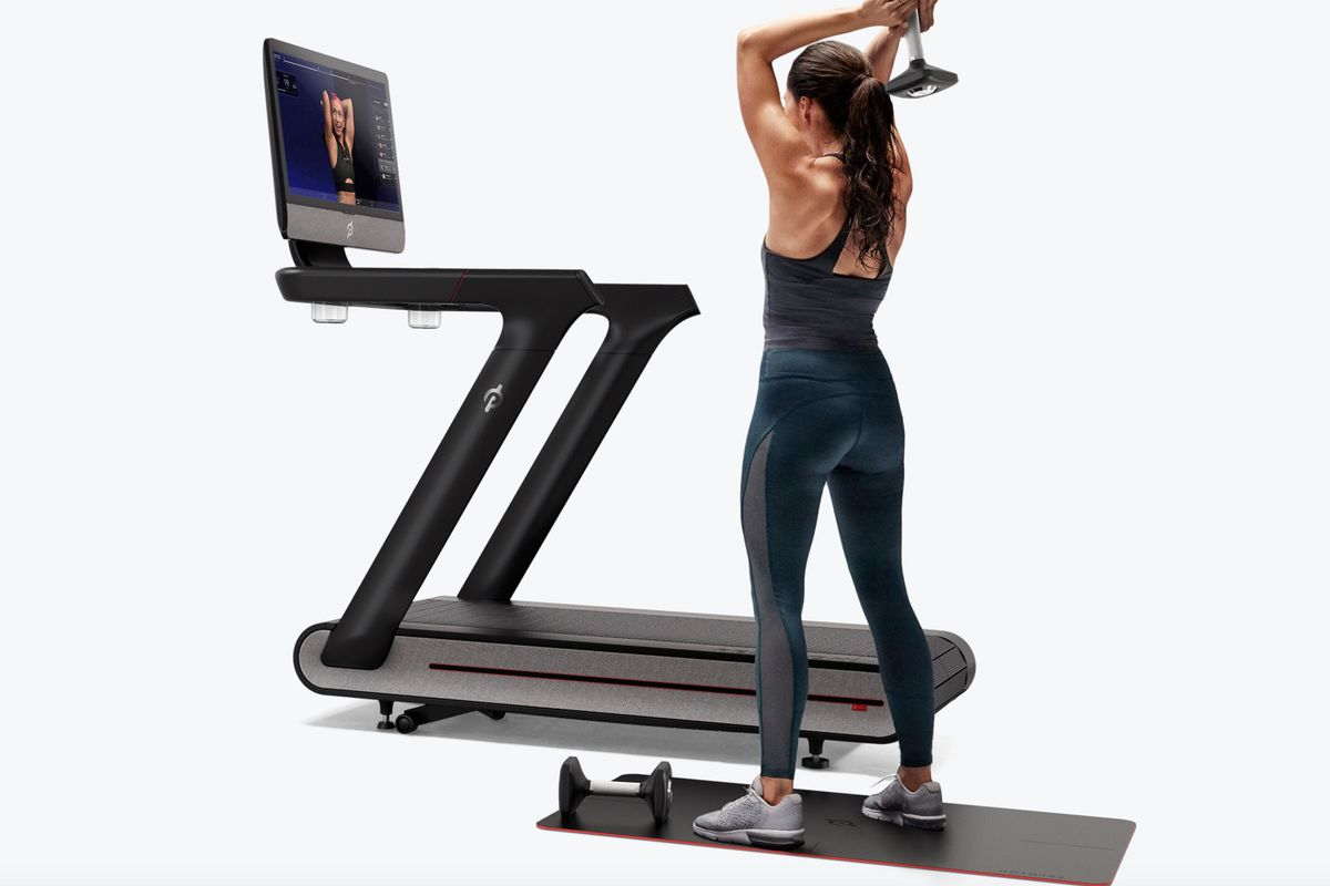 Peloton Tread A Treadmill That Streams Live Fitness