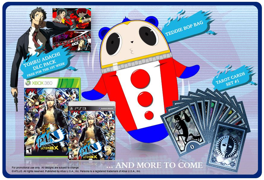 Persona 4 Arena Ultimax package