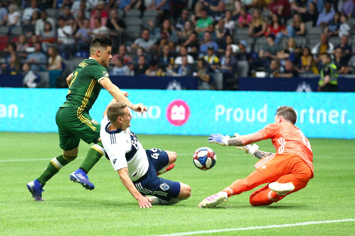 SOCCER: MAY 10 MLS - Portland Timbers at Vancouver Whitecaps