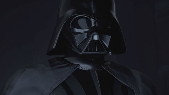 A press screenshot of Vader Immortal, fro Oculus and ILMxLAB. Released during Star Wars Celebration 2019.