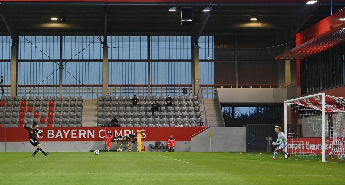 Bayern München v BIIK Kazygurt - Women's UEFA Champions League Round Of 16 Leg One