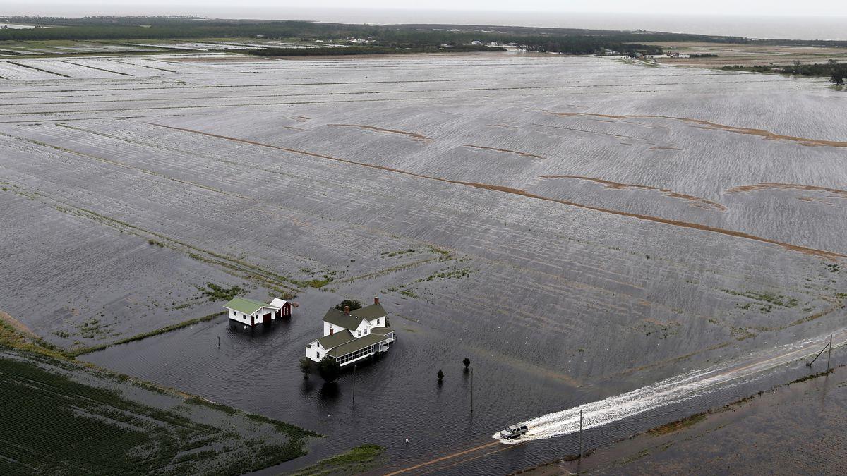 Photos Hurricane Florence Floods North Carolina Vox
