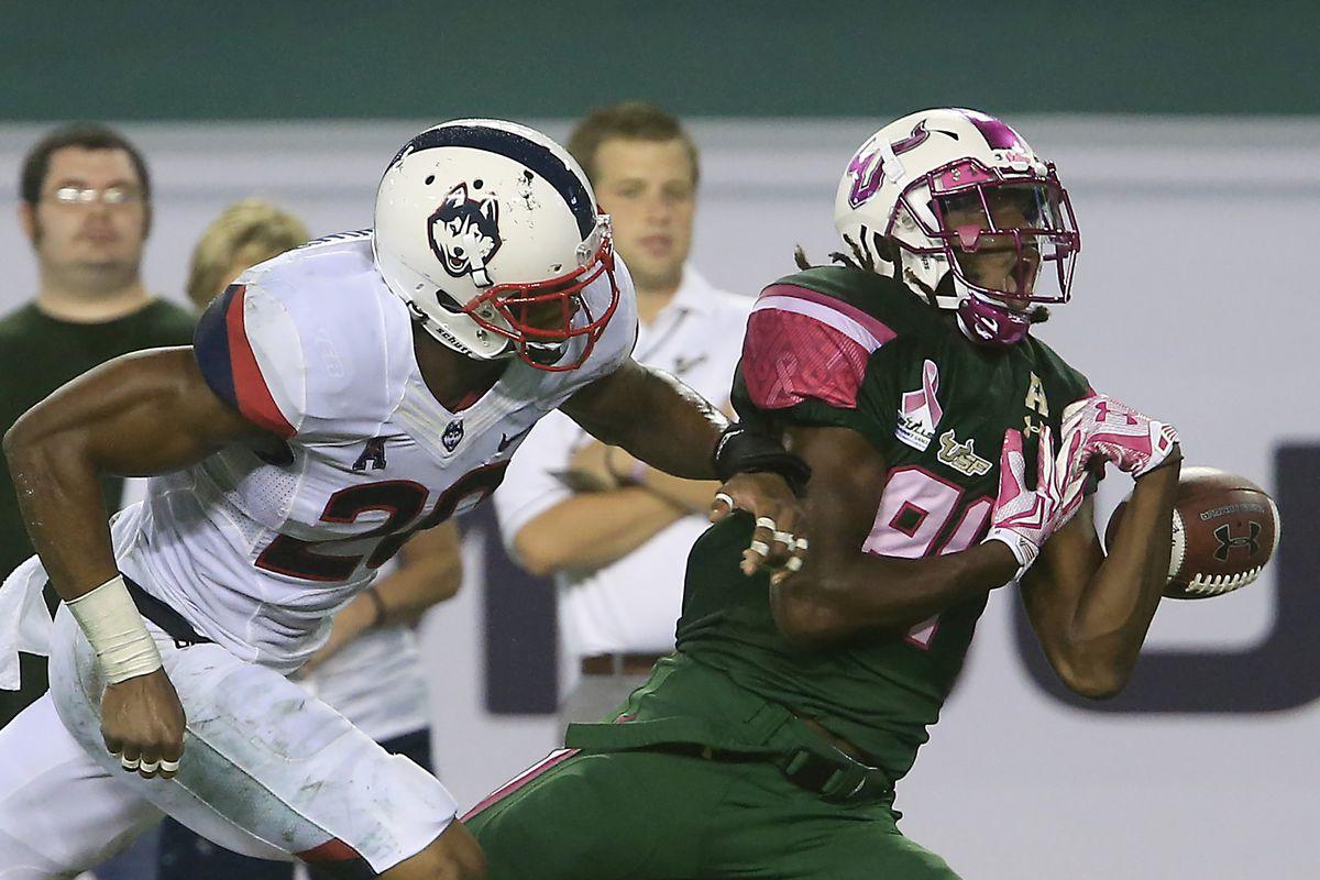 NCAA Football: Connecticut at South Florida