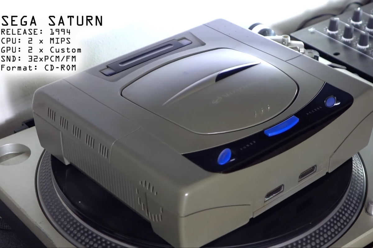 Sega Saturn's DRM has been cracked after 20 years - The Verge