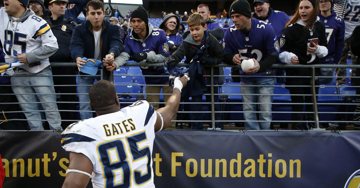 Antonio Gates appreciation: The tight ends, the touchdowns, and the stats of a great career