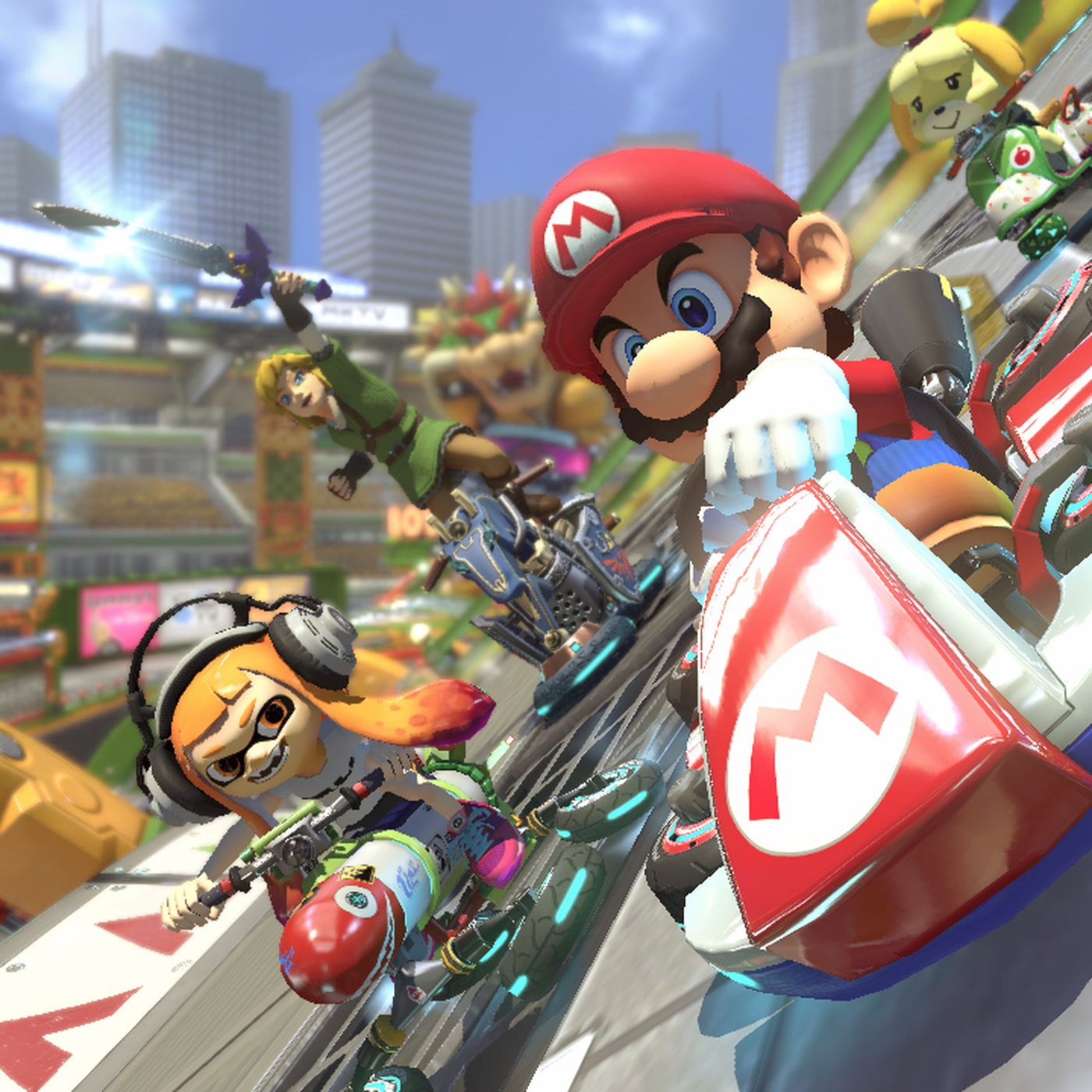 mario kart 8 deluxe controls switch