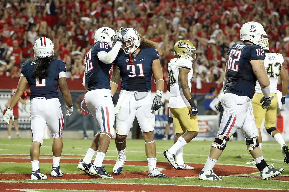 Can Arizona be penalized for celebrating all their TDs?  I mean, scoring all those TDs and celebrating each one just had to be excessive, right?