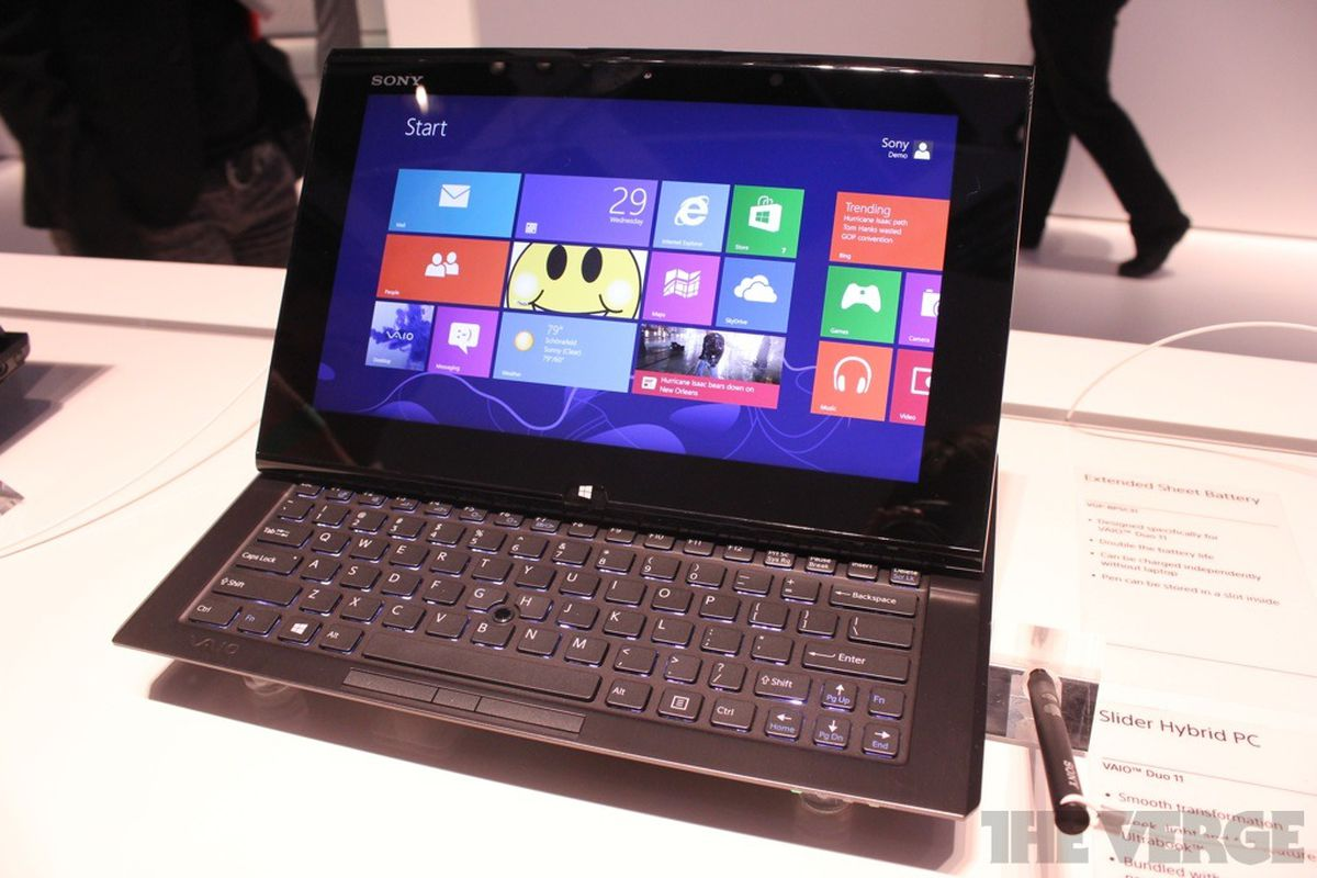 Sony VAIO Duo 11 hybrid tablet hands-on pictures and video