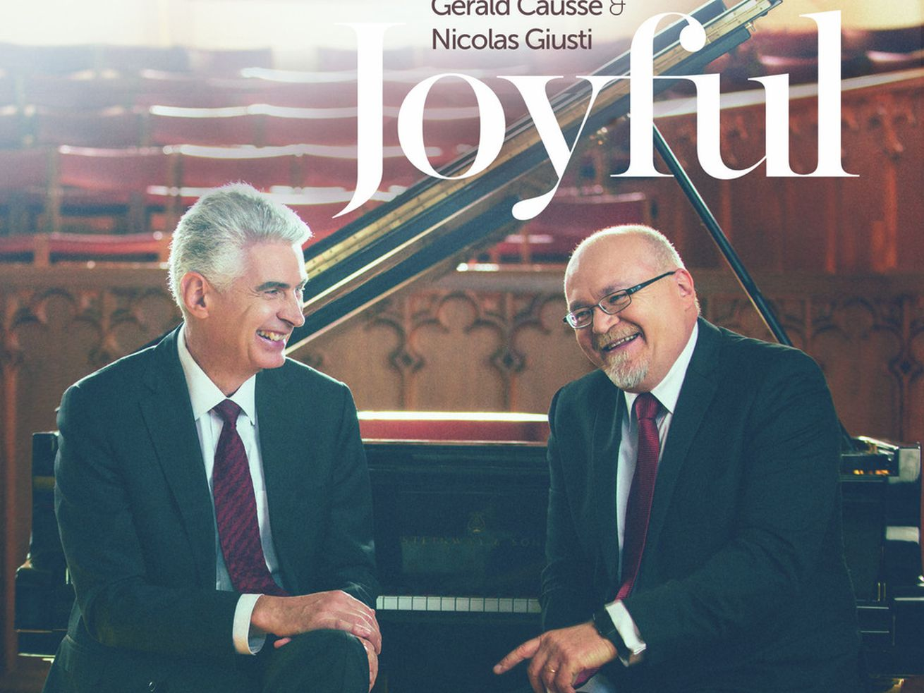 What's new: 'Joyful' shares 6 piano duets from friends Bishop Causse and Nicolas Giusti