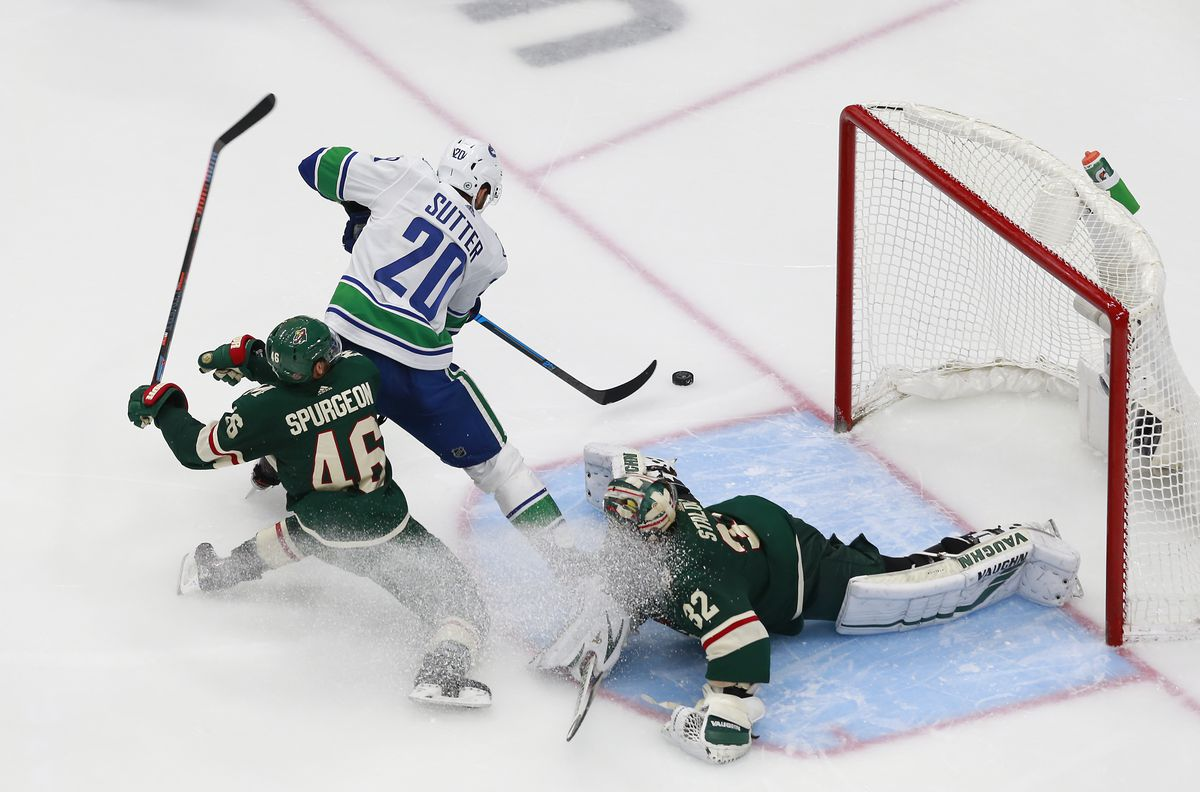 Vancouver Canucks v Minnesota Wild