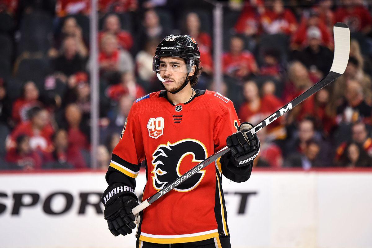 NHL: MAR 04 Blue Jackets at Flames