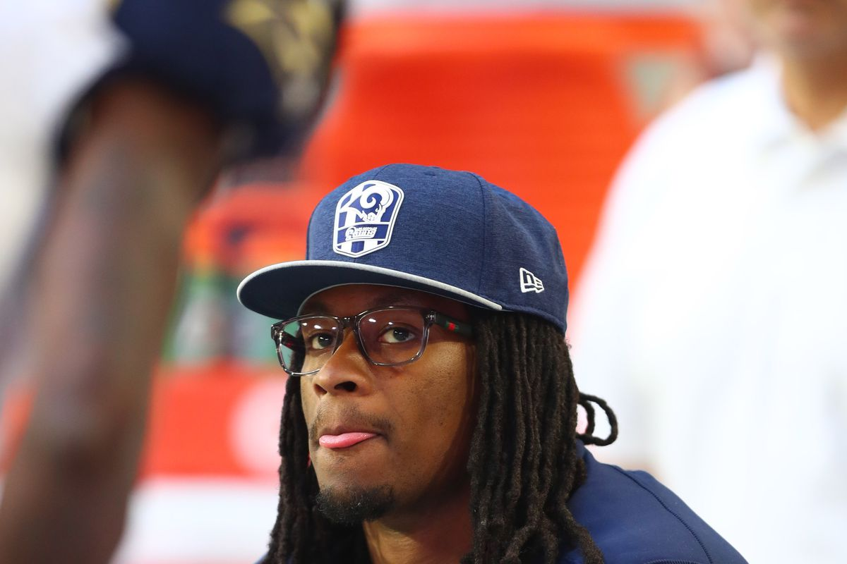 La Rams Rb Todd Gurley Limited In First Practice For Dallas Cowboys Turf Show Times