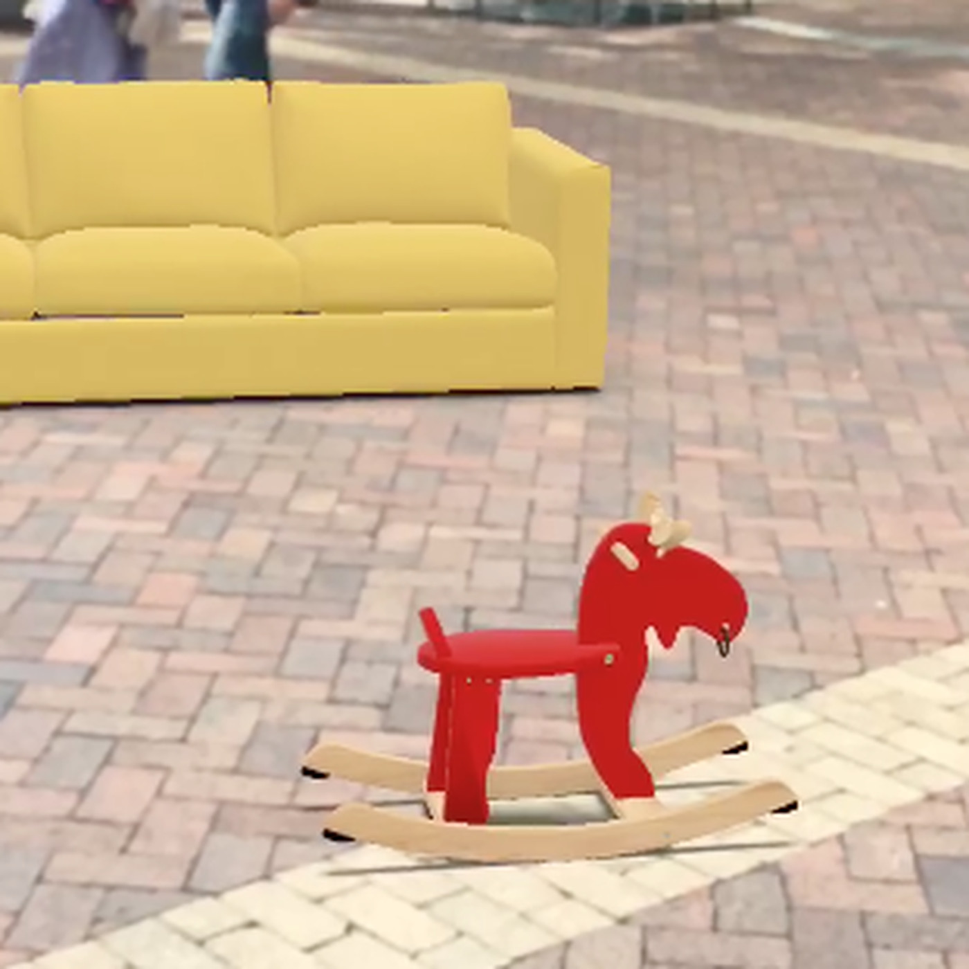 ikea place is an ar app that lets you put furniture on the street the verge
