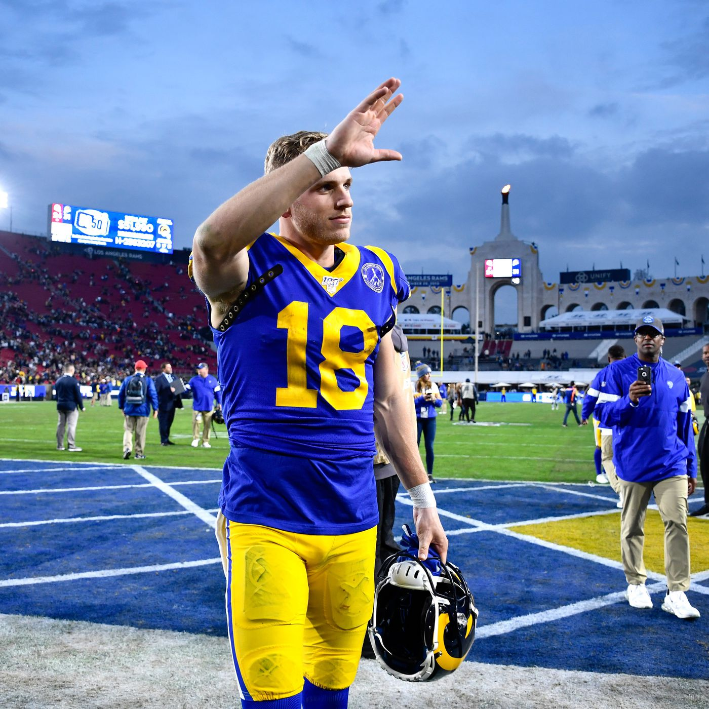 Cooper Kupp Receiving Yards Odds Why He Will Go Over His Offseason Total In 2020 Draftkings Nation