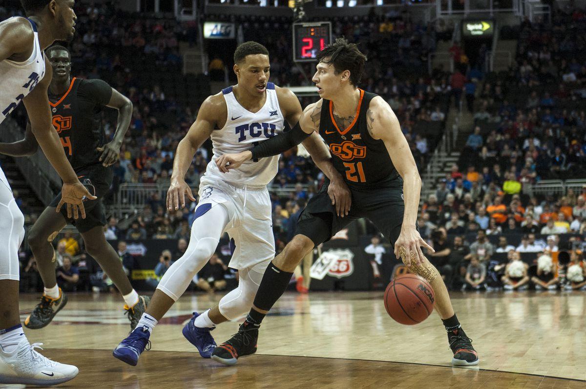 NCAA Basketball: Big 12 Conference Tournament-Texas Christian vs. Oklahoma State