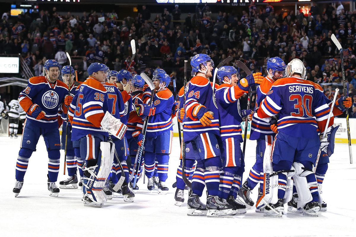 Oilers win their 8th game of the season