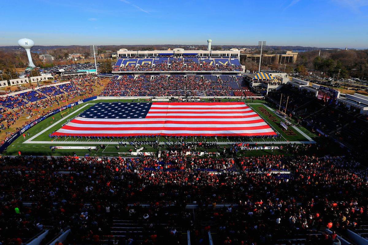 UVA will face Navy in the Military Bowl on December 28