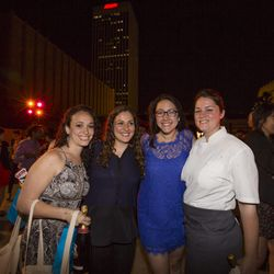 The Young Gun ladies: Alissa Rozos, Hourie Sahakian, Alyssa DiPasquale, and Jessica Largey