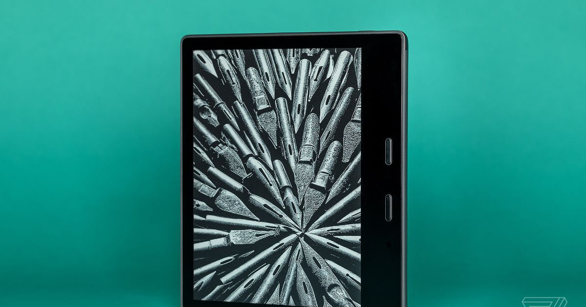 Amazon's last-gen Kindle Oasis e-reader is 0 at Woot