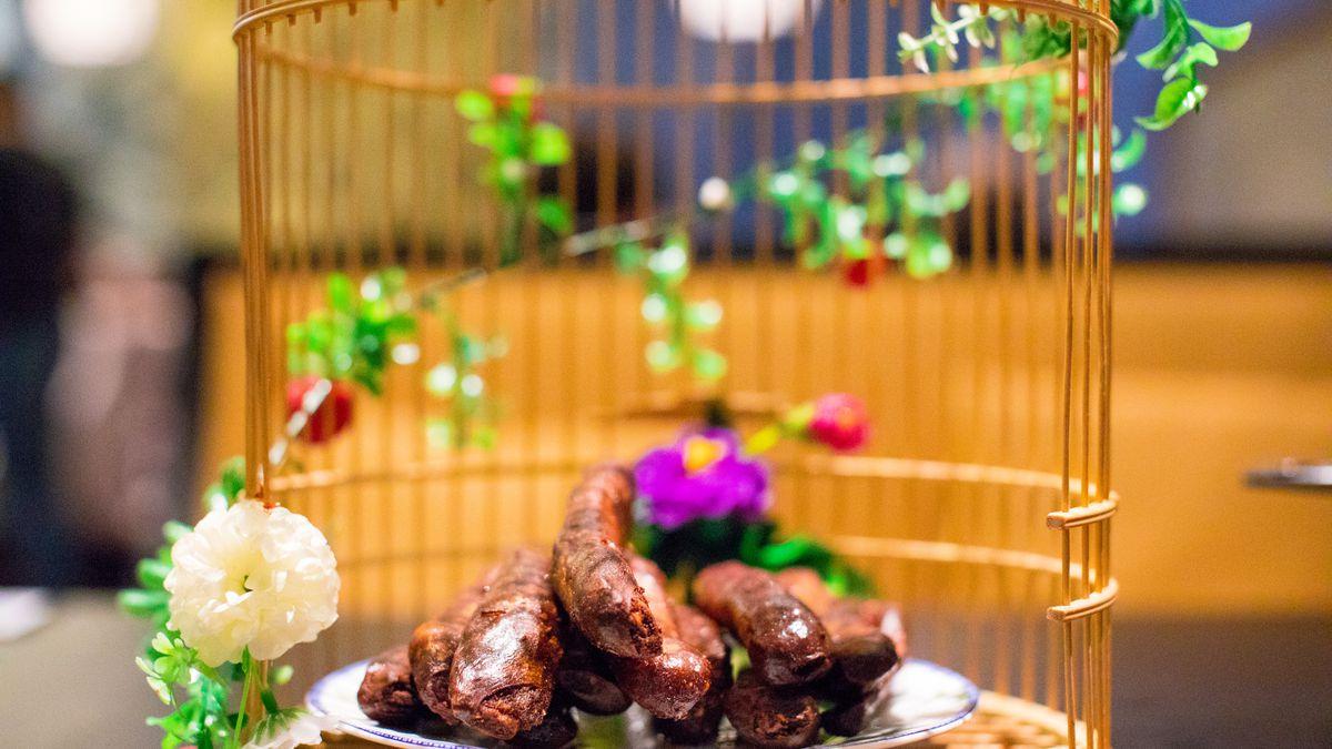 Tibetan pork ribs