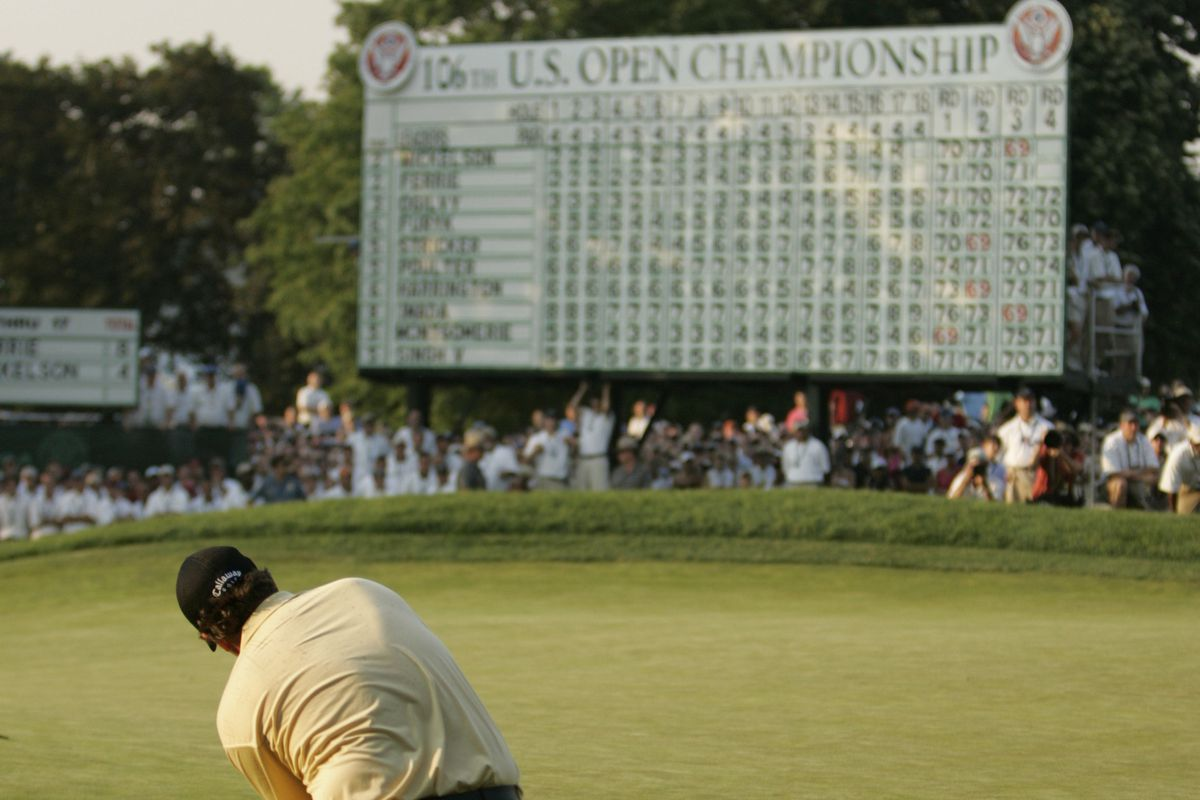 Golf - PGA - 106th US Open Championship at Winged Foot