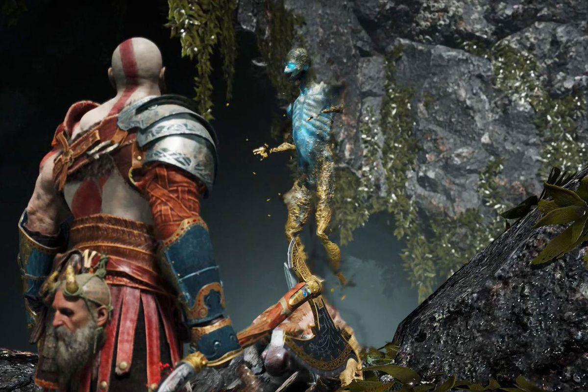 God of War Kratos wayward spirit