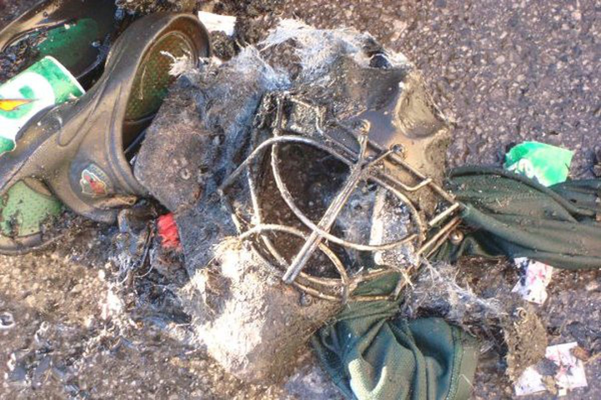 The Minnesota Wild suffered an off-ice loss as much of their equipment went up in flames after the team's practice on 12/18