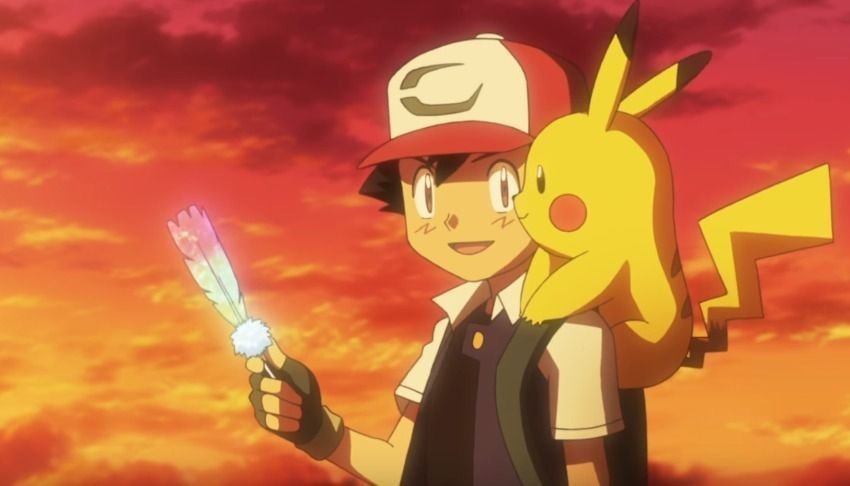 pikachu and ash in pokémon: i choose you!
