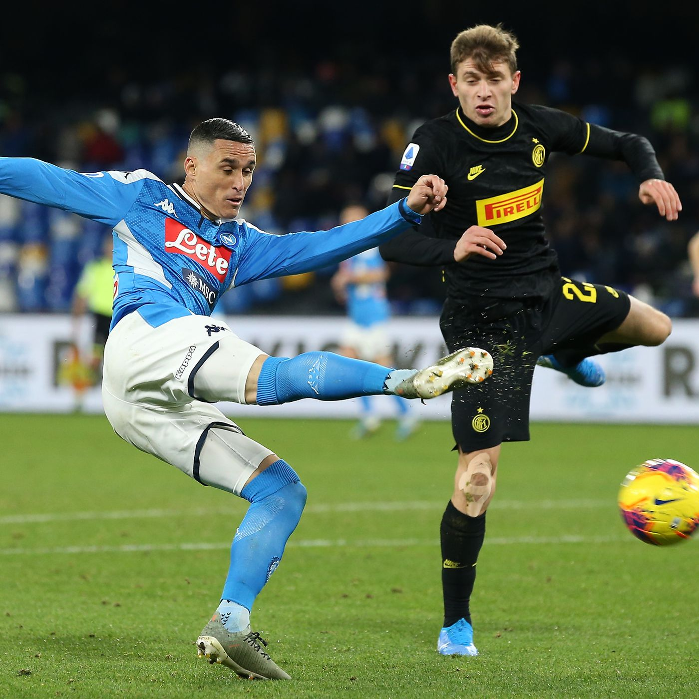 Official Inter Milan And Napoli Name Lineups For Coppa Italia Matchup Serpents Of Madonnina