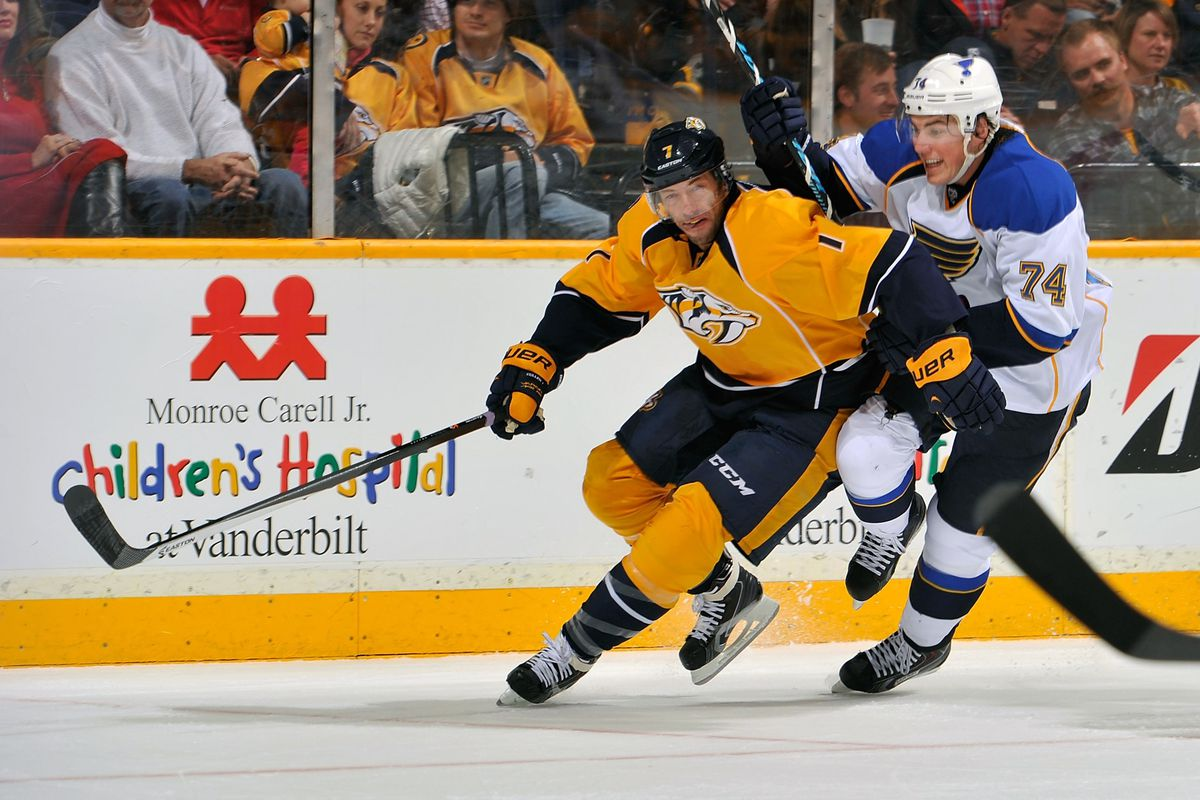 Matt Cullen, clearly obstructing T.J. Oshie. OBSTRUCTION! OBSTRUCTION!