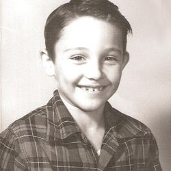 Gary Herbert schoolboy at the age of 8 in 1955.