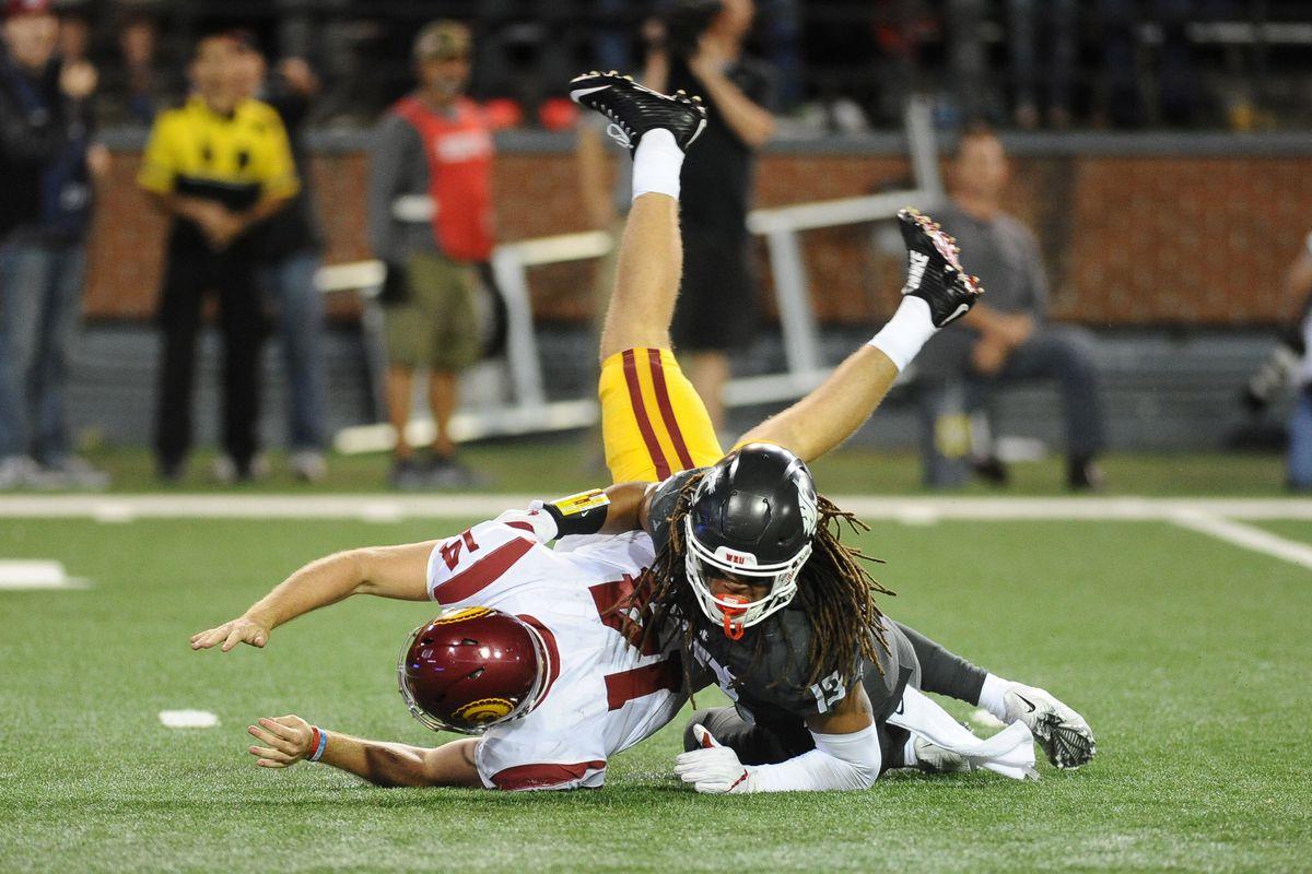 NCAA Football: Southern California at Washington State