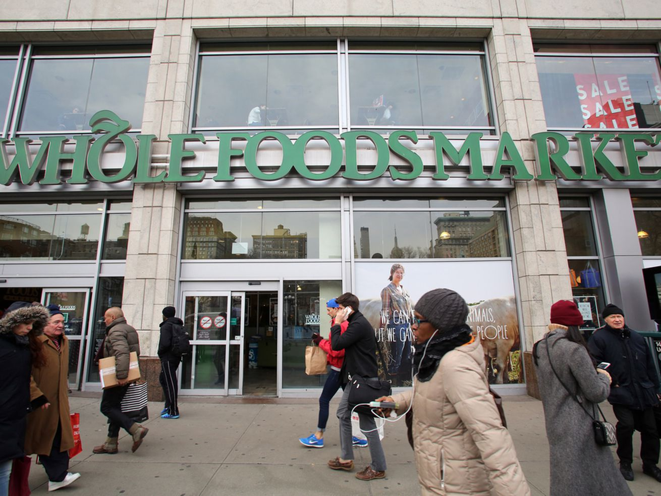 Whole Foods Workers Demand Amazon Stop Working With ICE