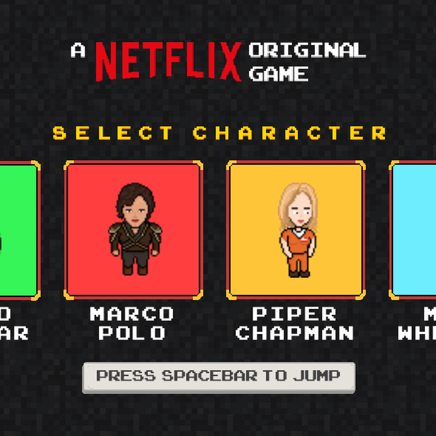 Netflix has made a side-scrolling game based on its original