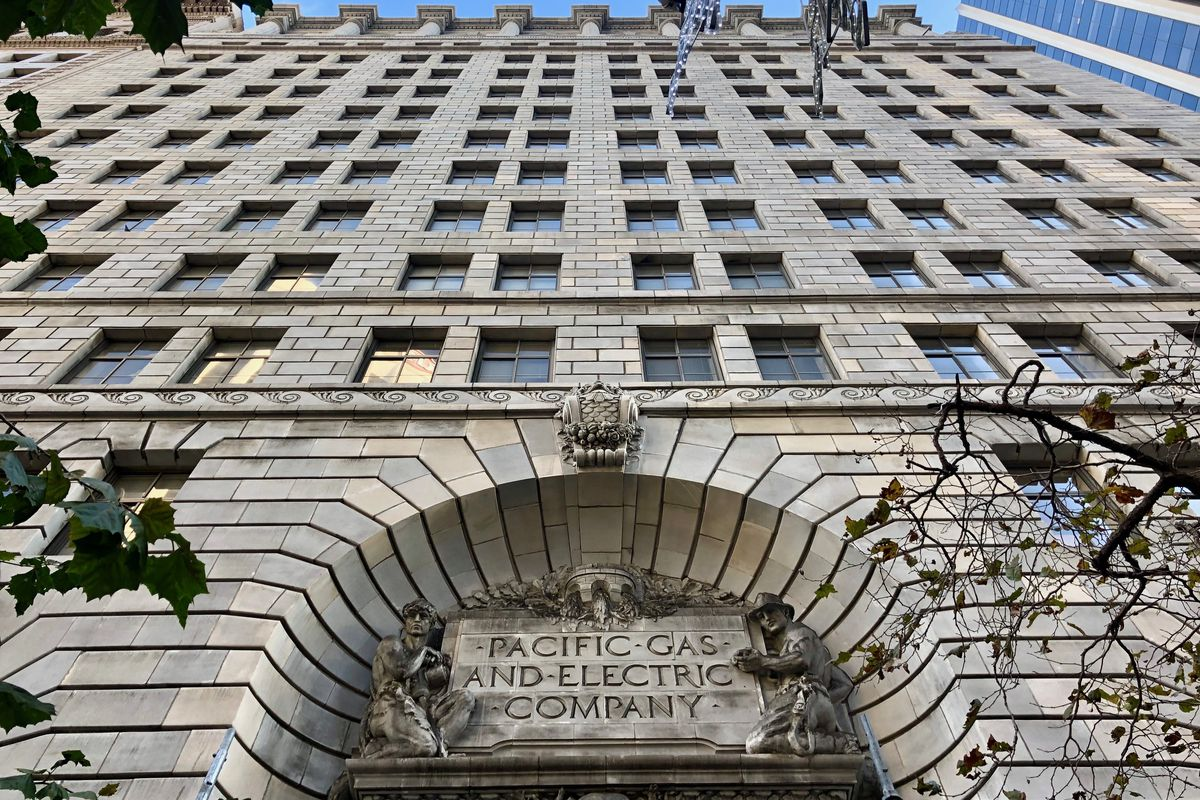 PG&E building in sf