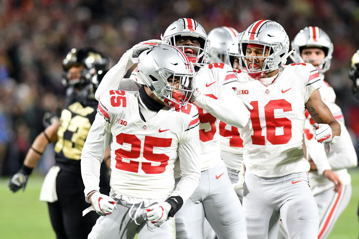 Ohio State No 10 In First College Football Playoff Rankings Of 2018
