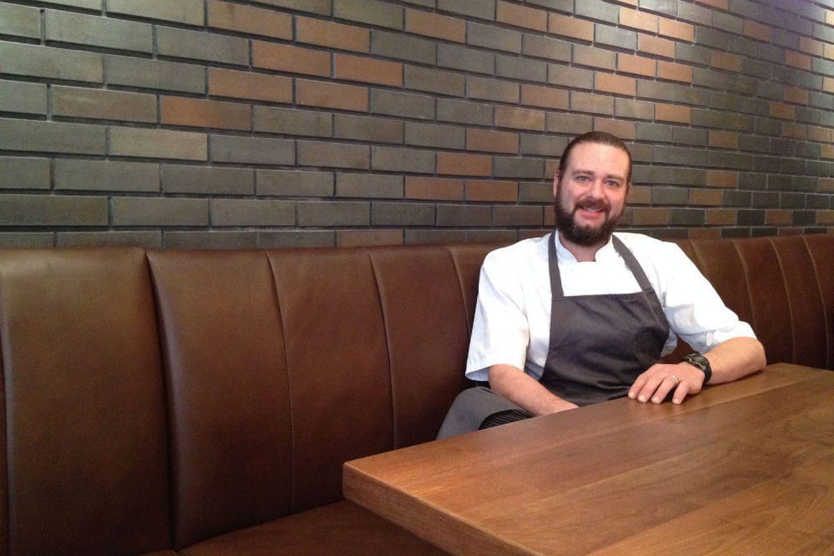 Former Bolsa chef Jeff Harris is back in action. <em>[Photos: Malcolm Mayhew/EDFW]</em>
